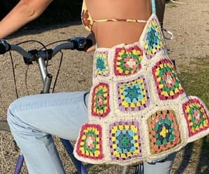 summer, crochet, and fashion image