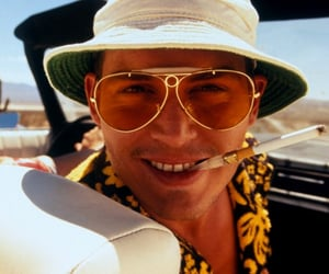 90s, Fear and Loathing in Las Vegas, and Raoul Duke image