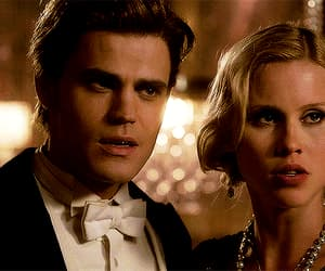 gif, paul wesley, and claire holt image