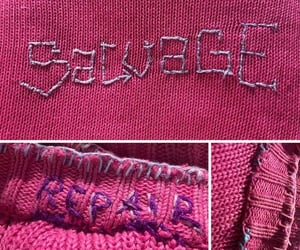 embroider, embroidery, and humanity image