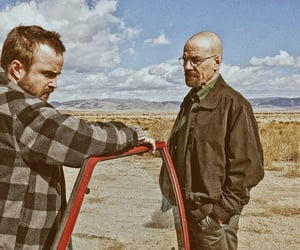 breaking bad, desert, and tv show image