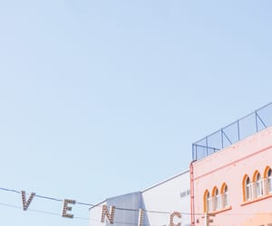 la, pastel colors, and Venice beach image