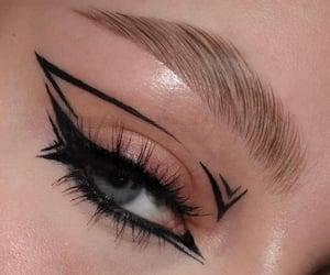 aesthetic, black, and eye image