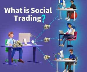 forex trading strategies, online forex trading, and social trading platforms image
