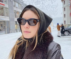 snow, winter, and camille rowe image
