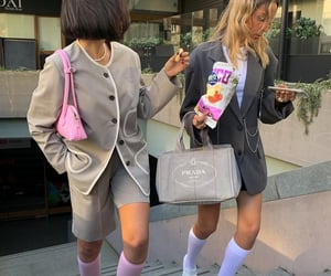 best friends, bloggers, and fashion image