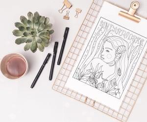 fantasy art, hobby, and coloringforadults image