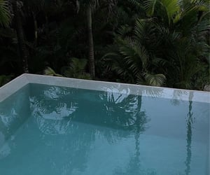 vogue première, calm, and pool image