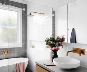 bath, bathroom, and interior decor image
