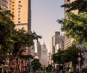 brasil, street, and são paulo image