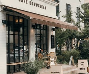 cafe, coffee, and brown aesthetic image