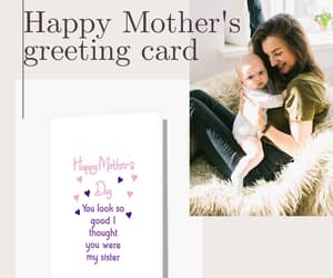 mothers day, happy mothers day, and greeting cards image