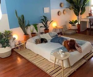 bedroom, comfy, and cozy image