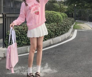 bright pink, korea, and korean image