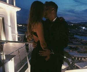 couple, kissing, and lifestyle image