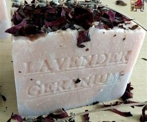 google, lavender rose, and handmade soap image
