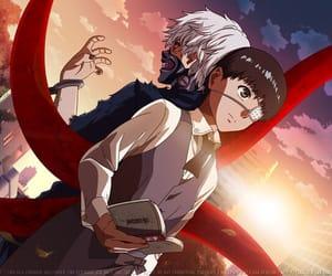 anime, kaneki, and tokyo image
