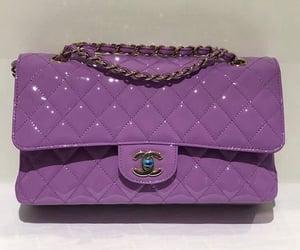 chanel, fashion, and purple image