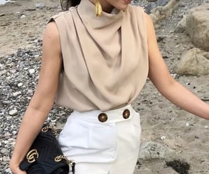 blouse, runway, and casual image
