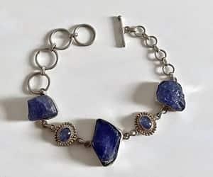 blue, boho chic, and natural gemstone image