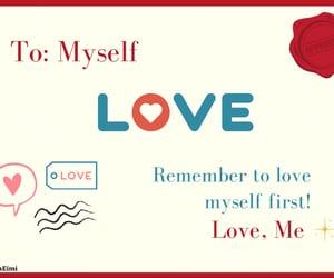 happines, love myself, and cute image