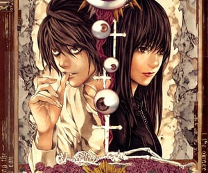 death note and l lawliet image