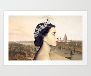 royal family, english royalty, and queen elizabeth ii image
