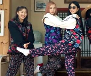 isa, tiny, and yeeun image