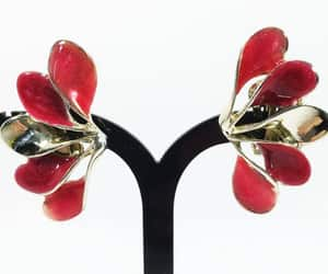 etsy, retro, and vintage earrings image