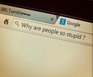 people, grunge, and stupid image