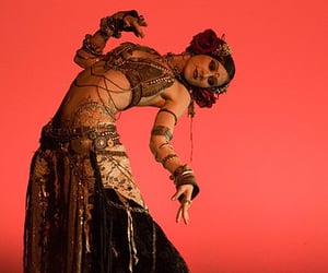 belly dancer, dance, and Mata Hari image