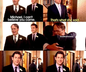 dwight schrute, scene, and the office image