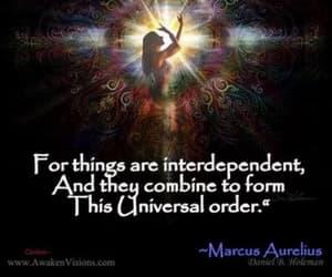 sacred, marcus aurelius, and oneness image