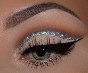 makeup, eye, and eyebrows image