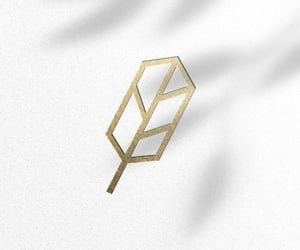 monogram, geometric, and logo design image
