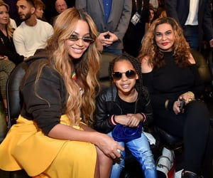 blue ivy and bey image