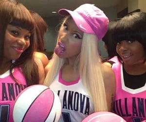 Basketball, pink, and nicki image