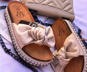 flat sandals, beach sliders, and sliders image