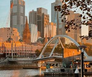 australia, melbourne, and morning image
