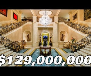 architecture, mansion, and billionaire image