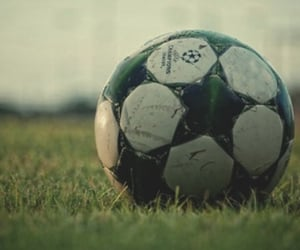 ball, football, and friends image