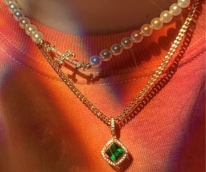 pearls, aesthetic, and jewellery image