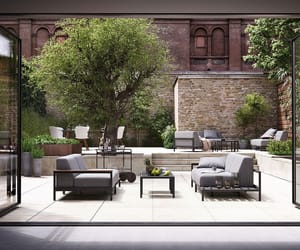 outdoor, rome, and sofa image