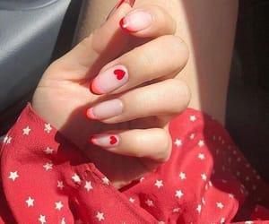 beautiful, nails, and hearts image