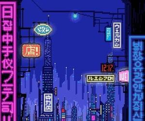 artsy, city, and asian image
