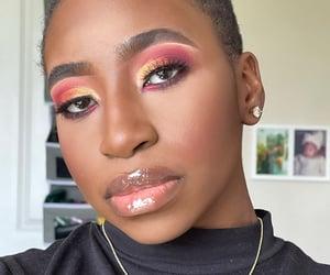 beautiful, love yourself, and black girl image