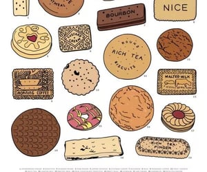 biscuits, infographic, and Cookies image