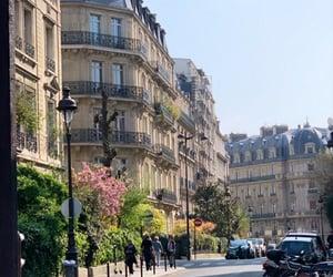 architecure, balcony, and france image