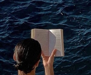 aesthetic, girls, and book image