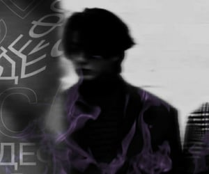 jk, cybergoth, and purple theme image